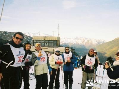 Esquí Baqueira - Competición; viaje naturaleza; viajes fin semana